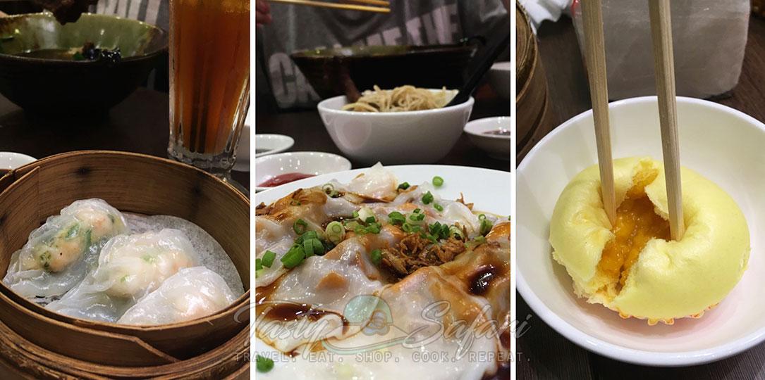 Meal at Takashimaya Food Court, Saigon