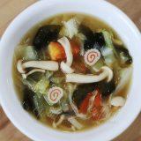 Vegetable and mushroom miso soup recipe