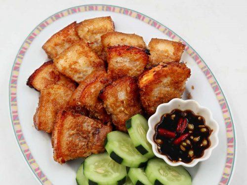 Vietnamese Grilled Lemongrass Pork Belly