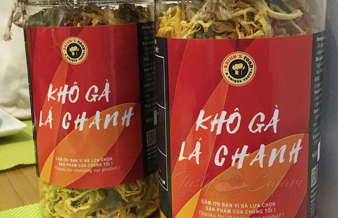 Vietnamese spicy lemon leaf chicken (gà lá chanh)