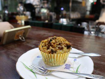 Carrot cupcake at The Yellow Chair Cafe, Saigon