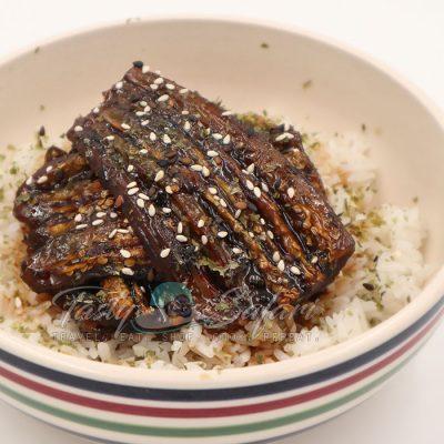 Kabayaki-style Eggplant Braised in Teriyaki Sauce Recipe