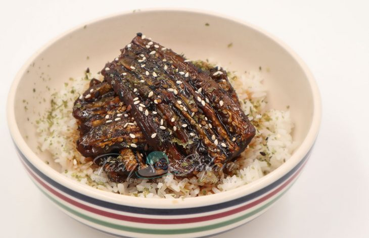 Kabayaki-style Eggplant Braised in Teriyaki Sauce Recipe