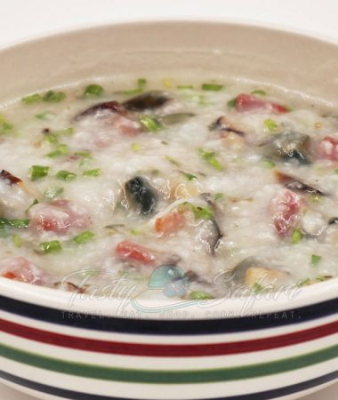 Congee, Crowne Plaza Hong Kong Style