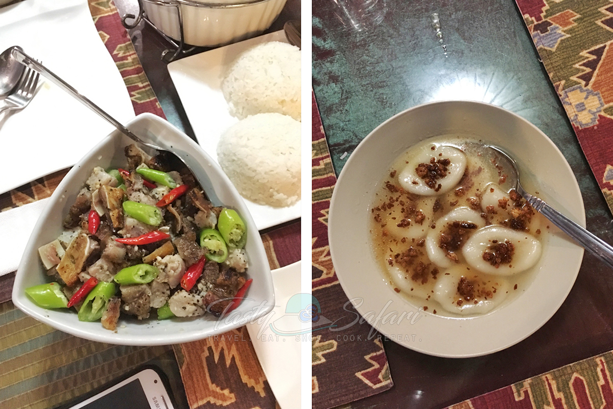 At KUS Private Dining: Sinuglaw and Palitaw