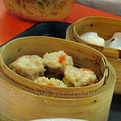 Siu mai At Changi Airport, Singapore