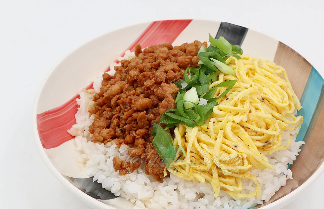 How to Cook Soboro Don