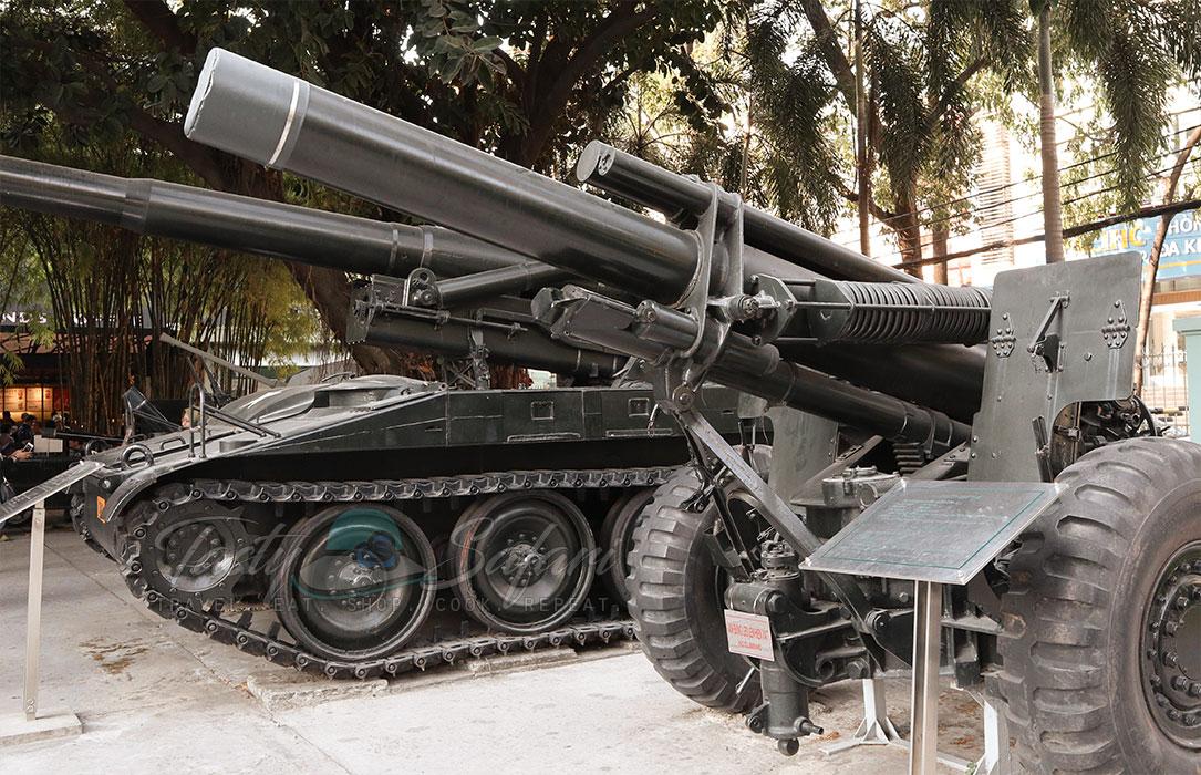 Tanks at the War Remnants Museum, Saigon