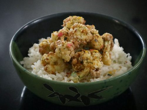 Crispy Cauliflower with Furikake