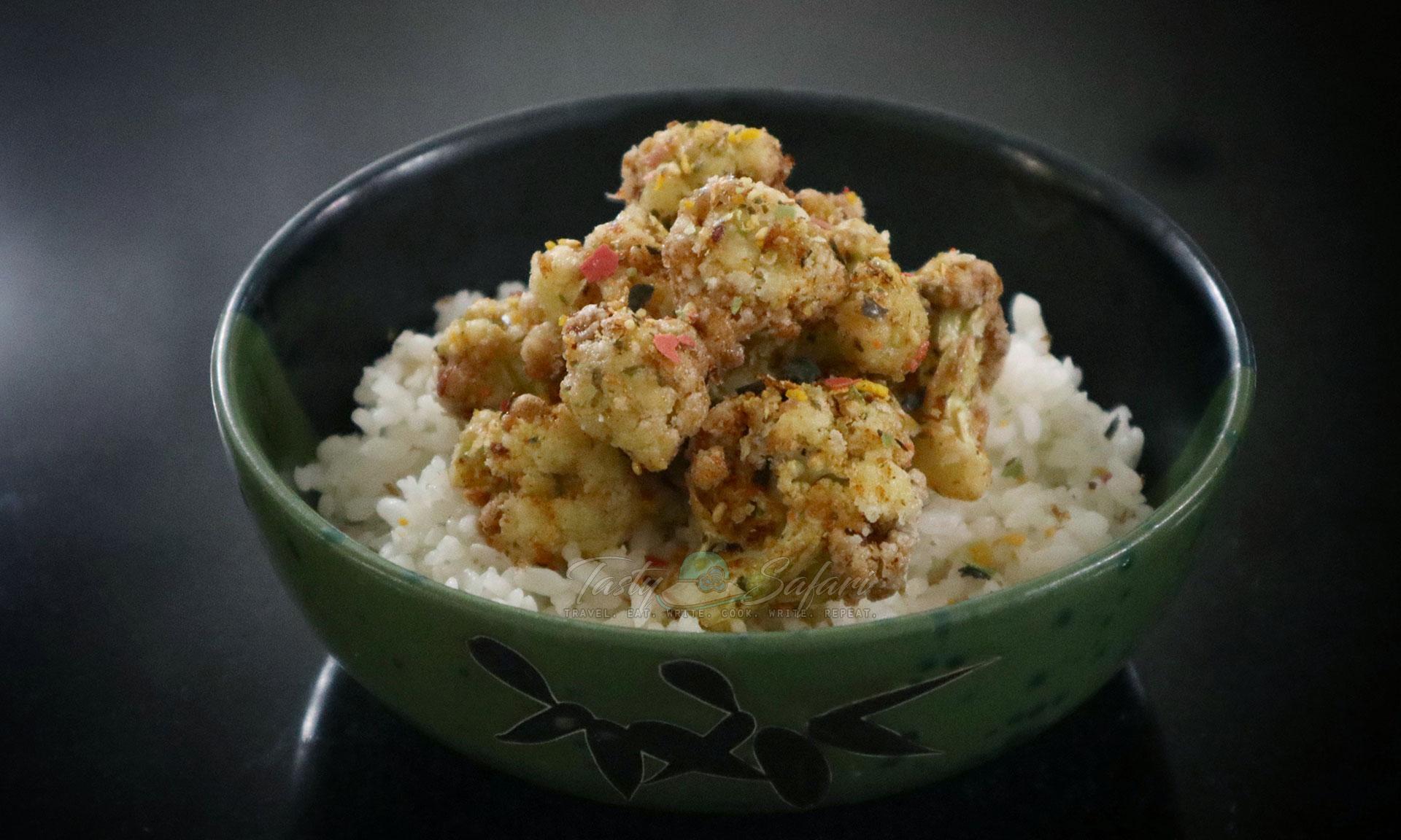 Crispy Cauliflower with Furikake