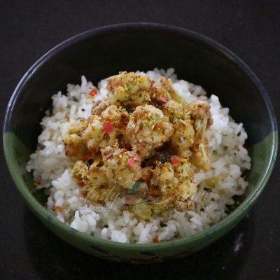 Crispy Cauliflower with Furikake Recipe