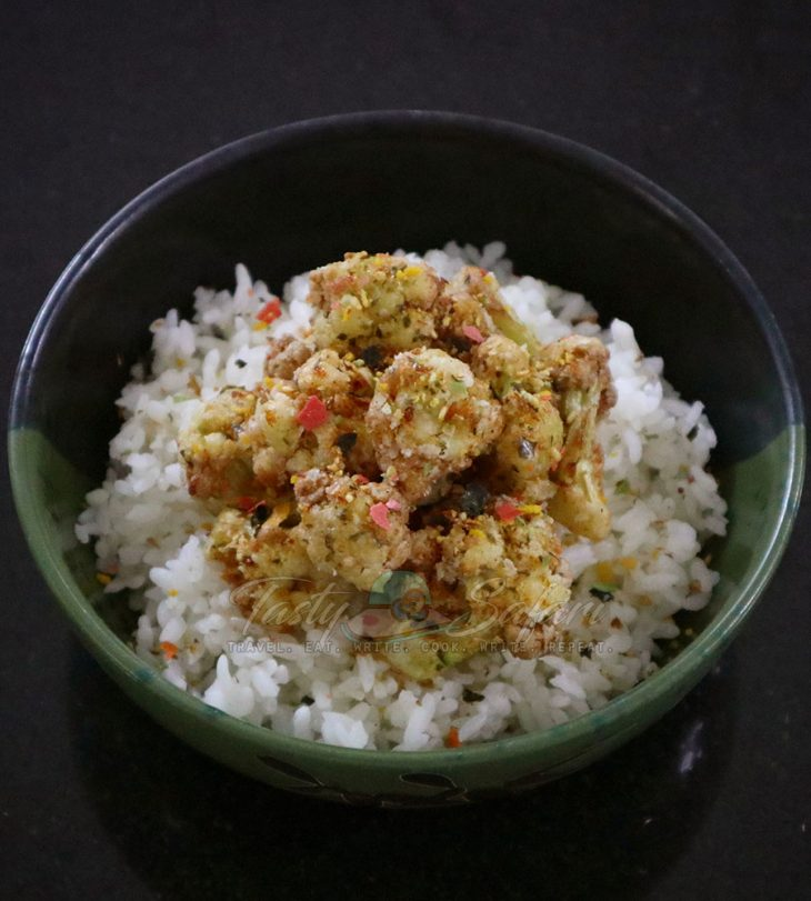 Crispy Cauliflower with Furikake Recipe