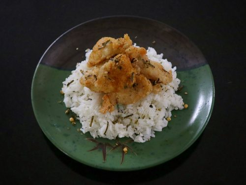 Crispy Fried Chicken with Furikake Recipe