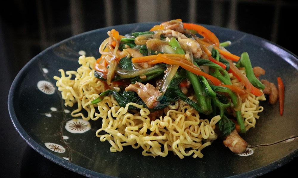 Crispy Chow Mein Recipe