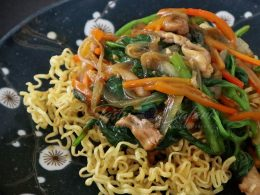 How to Cook Crispy Chow Mein