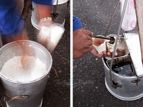 Taho Hawkers in the Philippines
