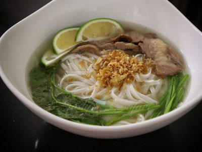 Home cooked beef pho