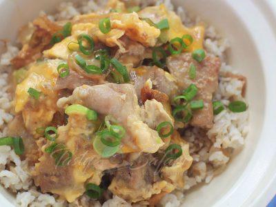 Oyakodon (Chicken and Egg Rice Bowl) Recipe