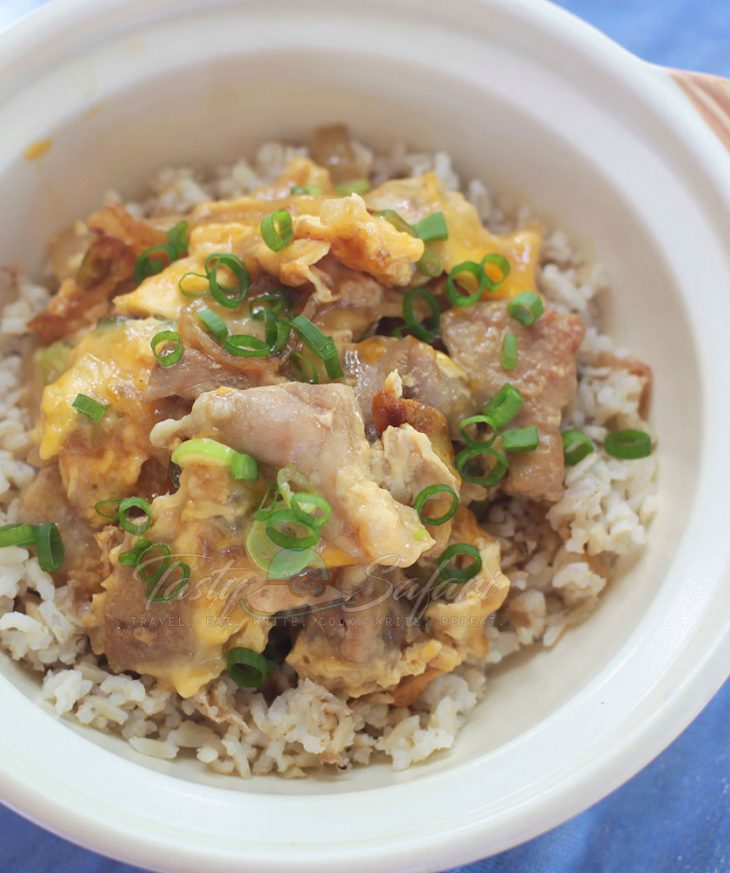 Oyakodon (Chicken and Egg Rice Bowl) Recipe