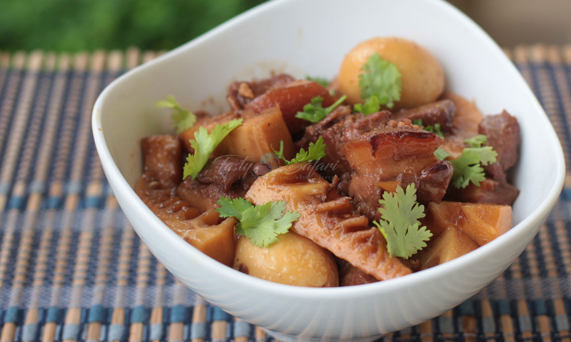 Vietnamese Caramel Pork with Eggs and Bamboo Shoots Recipe