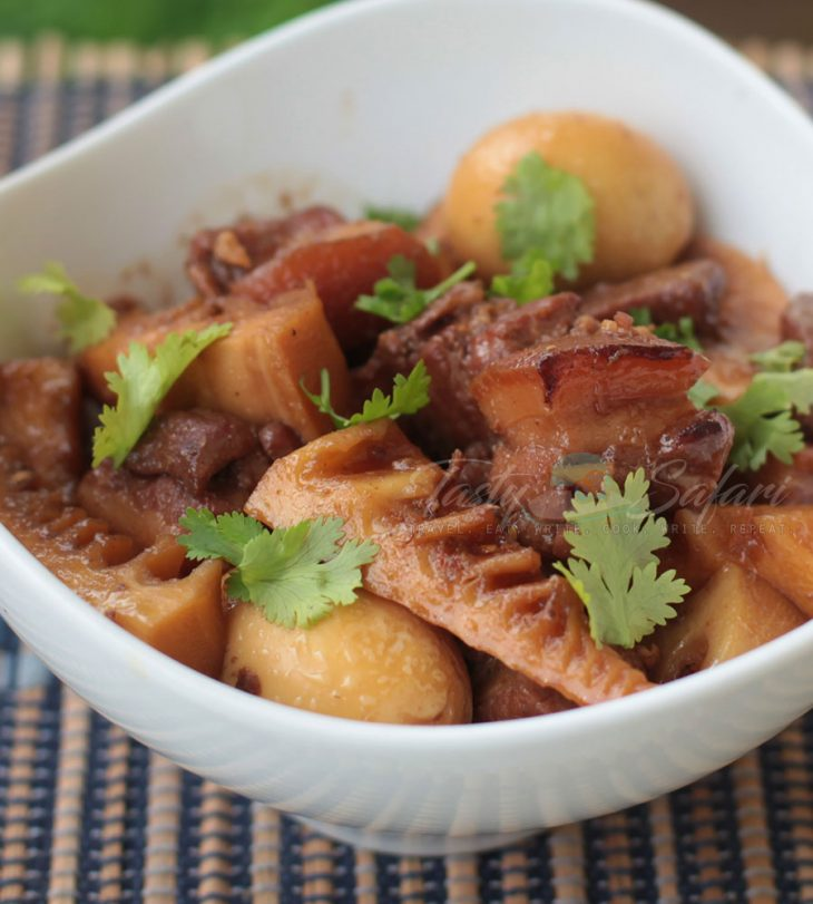 How to Cook Vietnamese Caramel Pork with Eggs and Bamboo Shoots