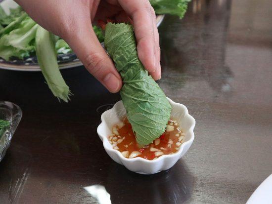 Vietnamese mixed fish sauce