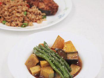 Mixed Vegetables Agebitashi Recipe