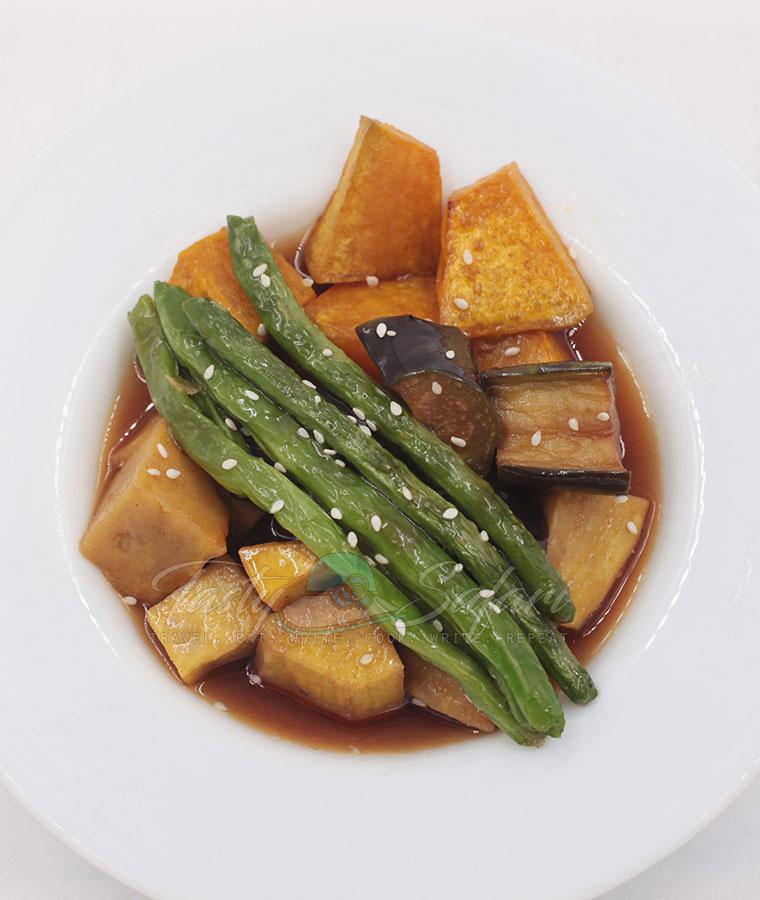 How to Cook Mixed Vegetables Agebitashi