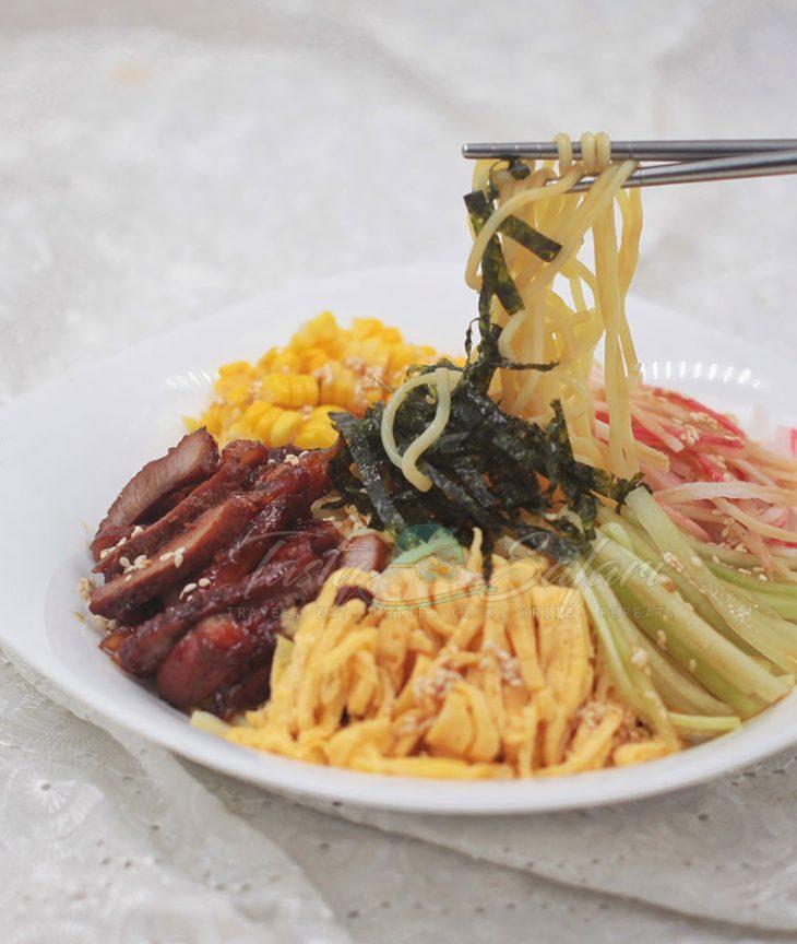 Hiyashi Chuka (Cold Ramen) Recipe