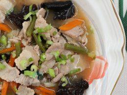 How to Cook Tonjiru (Butajiru): Pork Miso Soup