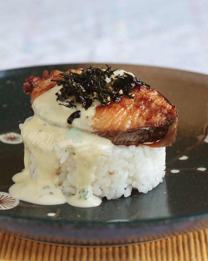 How to Cook Mackerel Teriyaki with Wasabi Mayo