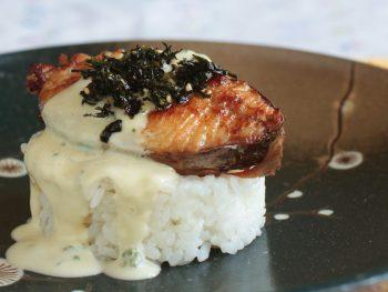 Mackerel Teriyaki with Wasabi Mayo Recipe