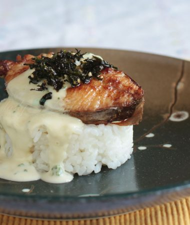 Easy Tasty Mackerel Teriyaki with Wasabi Mayo
