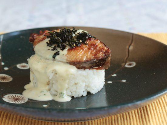 Easy Tasty Mackerel Teriyaki with Wasabi Mayo