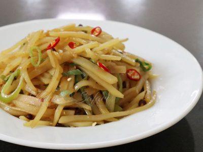 Sichuan Stir Fried Potatoes