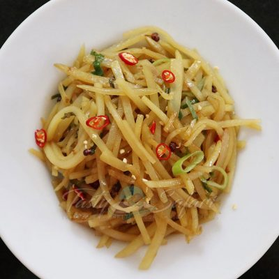 How to Cook Sichuan Stir Fried Potatoes