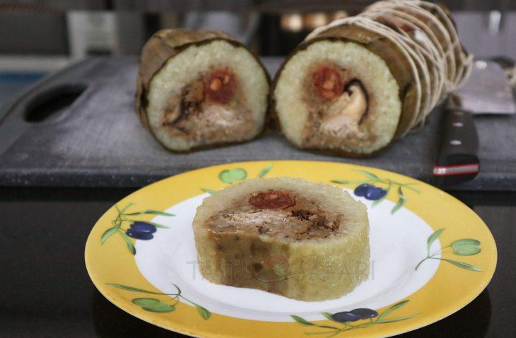 Banh Tet, traditional Vietnamese Chinese New Year dish