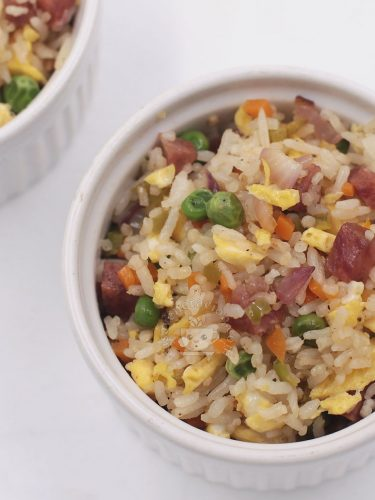 Chinese-style fried rice