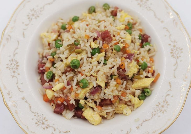 Cooked right, Chinese-style fried rice is never greasy