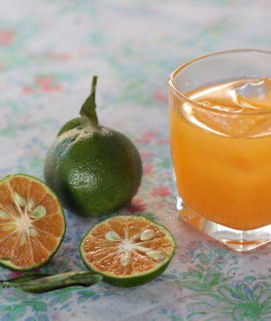 Fresh dalanghita (mandarin orange)
