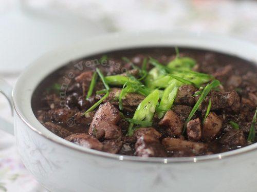 Dinuguan: A Filipino pork blood stew