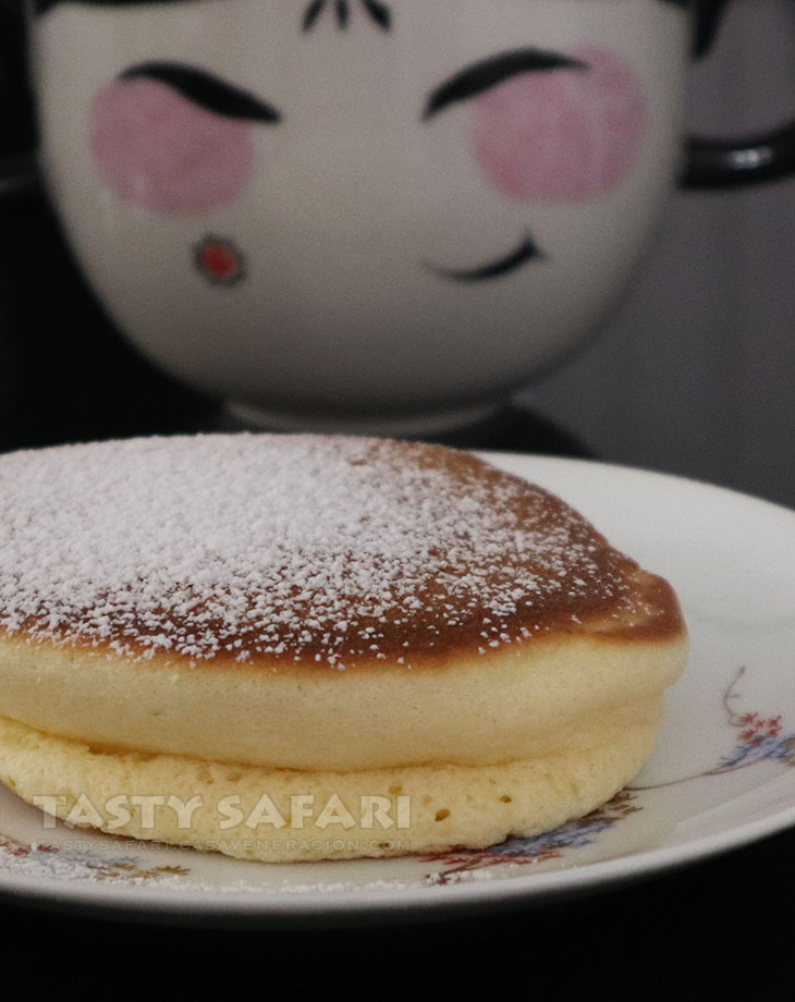 How to cook Japanese fluffy pancake