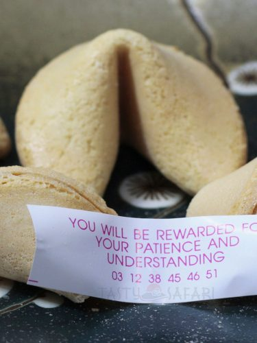 Fortune cookies are not Chinese