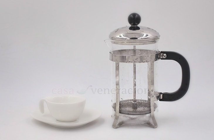 What a French press looks like