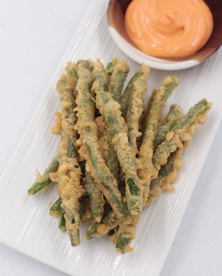 Green beans tempura