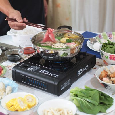How to set up a hotpot meal at home
