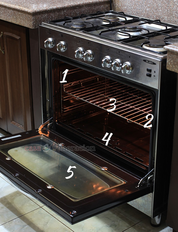 parts of an oven