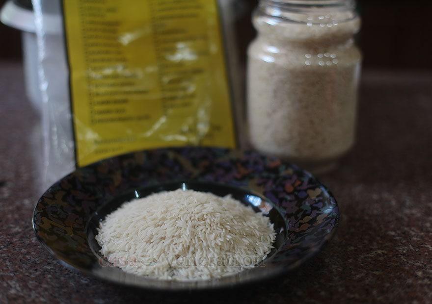 Basmati is a long-grain rice