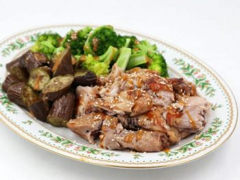Japanese chicken and vegetables