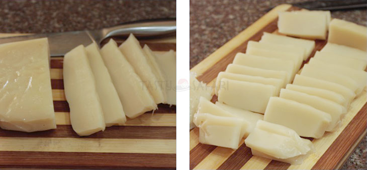 How to Slice Nian Gao (Tikoy), Chinese New Year Sweet Sticky Rice Cake